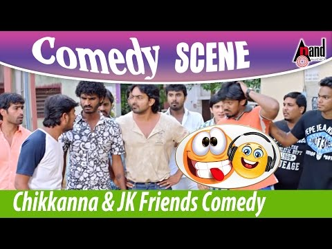 Video Chikkanna & JK Friends Comedy Scene | Bengaluru  560023 | New Kannada Film Comedy Scenes download in MP3, 3GP, MP4, WEBM, AVI, FLV January 2017