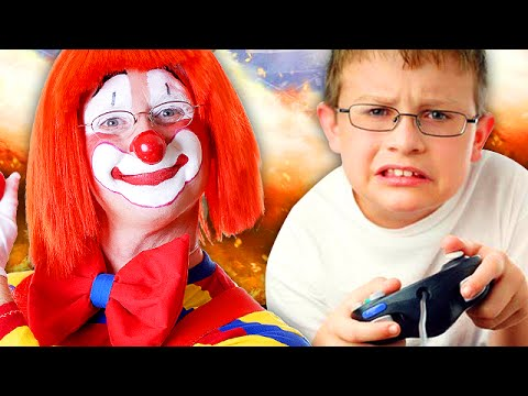 Crazy Clown TROLLING on Black Ops 2! (Call of Duty)