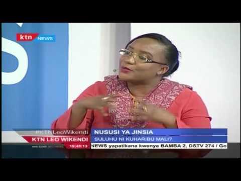 KTN Leo Wikendi Mdahalo 24th July 2016 - Nususi ya Jinsia