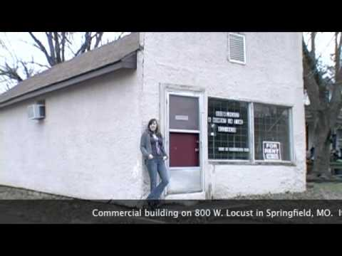 For Sale - Commercial Building in Springfield, MO - 800 W Locust CHEAP!