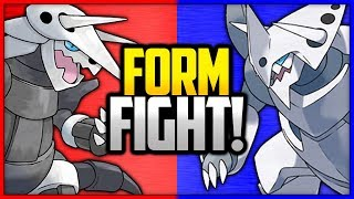 Aggron vs Mega Aggron | Pokémon Form Fight by Ace Trainer Liam