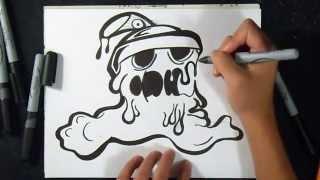 Cómo dibujar Lata de Spray (Lata derret.