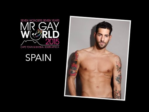 Mr Gay World - Spain 2015: Jesus Martin Márquez (видео)