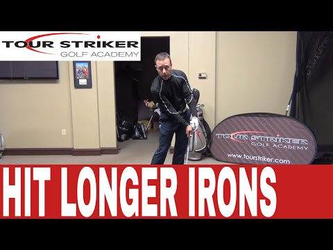 Tour Striker – How to hit your irons longer with the same easy swing!