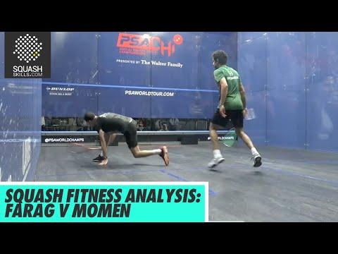 Squash Fitness Analysis: Ali Farag v Tarek Momen