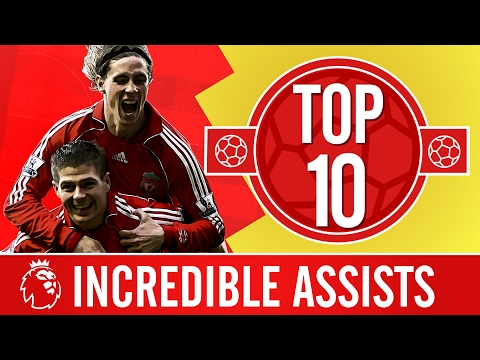 Top 10: The Most Incredible Premier League Assists | Gerrard, Alonso, Coutinho