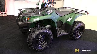7. 2019 Yamaha Kodiak 450 EPS Recreational ATV - Walkaround - 2018 Drummondville ATV Show