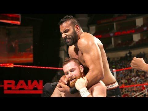 Sami Zayn vs. Jinder Mahal: Raw, 29. August 2016
