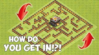 Video HOW DO YOU GET IN!?!😀NEW GIANT MAZE BASE!!😀Clash Of Clans MP3, 3GP, MP4, WEBM, AVI, FLV Agustus 2017