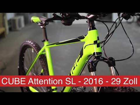 CUBE ATTENTION SL - 2016 - 29 ZOLL - HARDTAIL