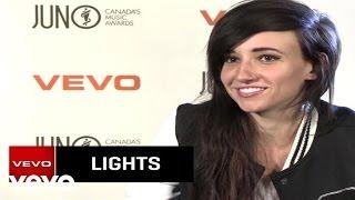 LIGHTS - VEVO News Interview
