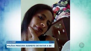 Polícia de Guaimbê procura por suspeito de matar a ex-namorada