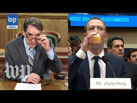 The Zuckerberg Hearings | Washington Post Department of Satire