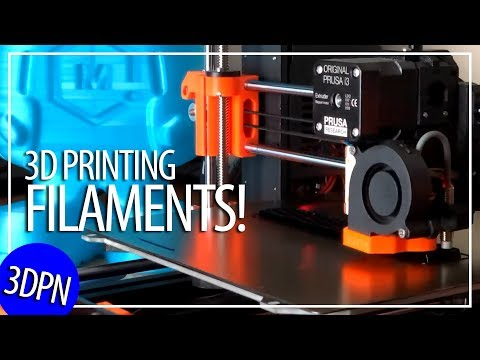 Guide to 3D Printing Filament! PLA ABS PETG TPU PEEK ULTEM