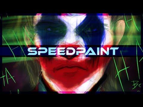 Joker Speedpaint on PSD OfficeBosch - Thời lượng: 20 phút.