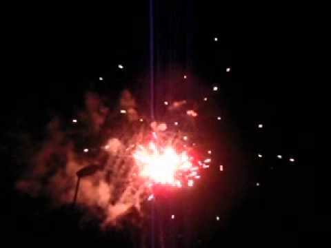Ρίψη πυροτεχνημάτων Porto Rio