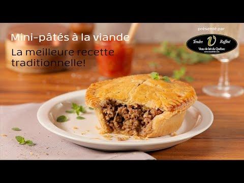 Mini-pâtés à la viande de Veau de lait du Québec