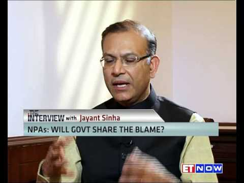 The Interview With MoS Finance Jayant Sinha