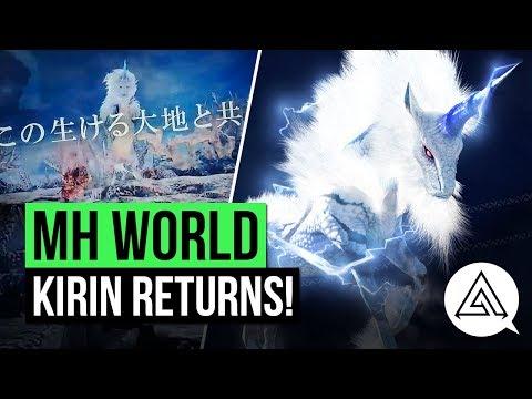 Monster Hunter World News   Kirin Returns in New MHWorld Commercial!