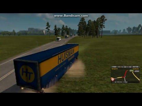 Euro Truck Simulator 2 RusMap/Poland Rebuilding/Promods