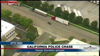 Video WHAT JUST HAPPENED: Did CA police chase suspect make car switch? (FNN) MP3, 3GP, MP4, WEBM, AVI, FLV Januari 2019