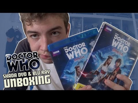 Doctor Who DVD Unboxing #14 Shada DVD & Blu Ray