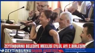 Zeytinburnu Belediye Meclisi Eylül Ayı 2 Birleşim 2014