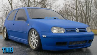MK4 Volkswagen Golf GTI Review! The Obnoxious Turbo Fluttering Eurofighter by That Dude in Blue