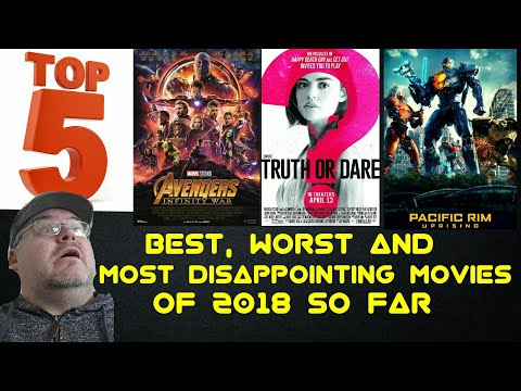 Top 5 Best, Worst & Most Disappointing Movies of 2018 So Far