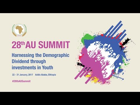 #28thAUSummit theme: Presentation by Commissioner HRST and Social Affairs