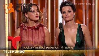 The funniest moments of the Golden Globes 2016 | Fandango | Telemundo English full download video download mp3 download music download