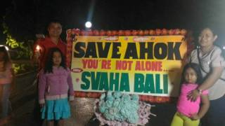 Save Ahok Singaraja BALI
