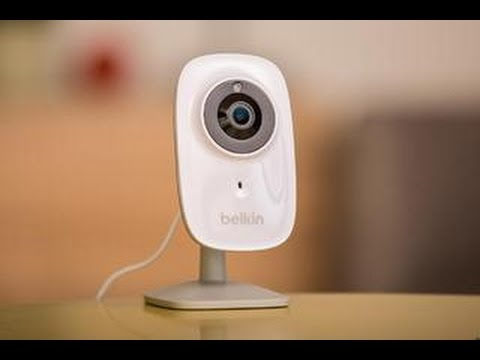 Belkin's NetCam HD+ will catch you red handed
