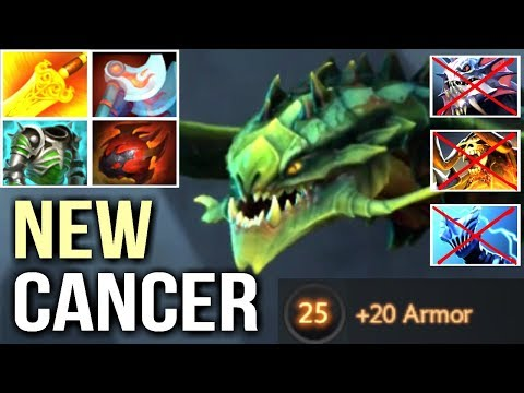 NEW CANCER Build Viper -75% Damage vs Physical Team Epic Gameplay by Arise 7k Dota 2