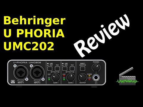 Review - Interface U-Phoria UMC202