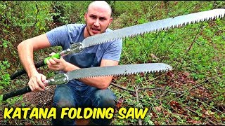 Video Katana Folding Saw 650mm MP3, 3GP, MP4, WEBM, AVI, FLV Maret 2018