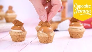 How to Make Biscoff Cookie Cups | Cupcake Jemma by Cupcake Jemma