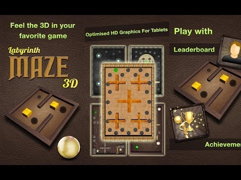 Video of LABYRINTH MAZE 3D