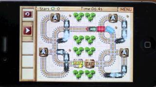 Rail Maze : Train puzzler YouTube video