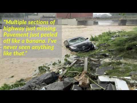 West Virginia flood: Two children among dead