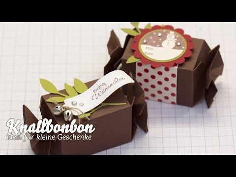 Tutorial - Knallbonbon/Candy Wrapper zusammenbauen