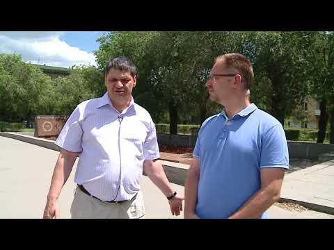 Менякин Иван делиться воспоминаниями с ведущим телеканала Волгоград 24. Братская могила.
