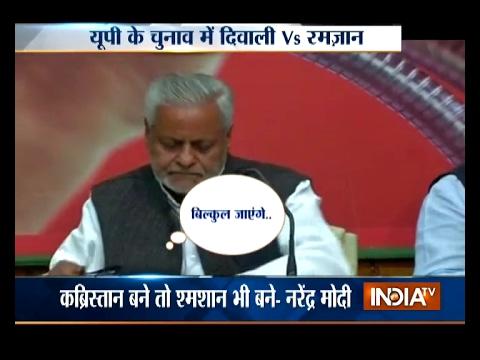 SP to approach EC over PM Modi's 'Kabristan-Shamshaan' statement