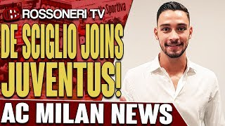 Mattia De Sciglio has joined Juventus for a reported fee of €12 million. Let us know your thoughts in the comments!SUBSCRIBE for more AC Milan videos: http://www.RossoneriTV.comSUPPORT Rossoneri TV by making a donation: http://patreon.com/rossoneritvFOLLOW our social media accounts:► Twitter: http://www.twitter.com/RossoneriTV► Facebook: http://www.facebook.com/RossoneriTV► Instagram: http://www.instagram.com/RossoneriTV► Google+: http://plus.google.com/+RossoneriTVChannelHip Hop Rap Instrumental (Crying Over You) by Chris Morrow 4 https://soundcloud.com/chris-morrow-3Creative Commons — Attribution 3.0 Unported— CC BY 3.0