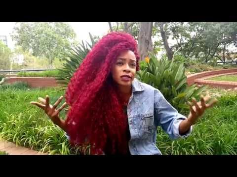 SHADE! Rapper Rouge takes the hot seat