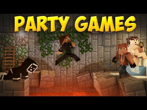 СМЕРТЕЛЬНЫЙ ЛАБИРИНТ - Minecraft Party Games