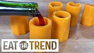Cheese Shot Glasses | Eat the Trend by POPSUGAR Food