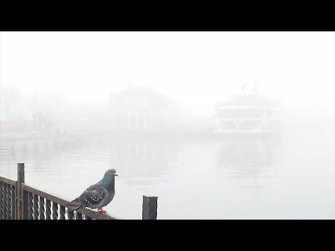 Κωνσταντινούπολη: Η ομίχλη κάλυψε τα πάντα