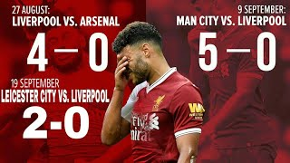 Alex Oxlade Chamberlain WOEFUL Highlight Against Leicester City