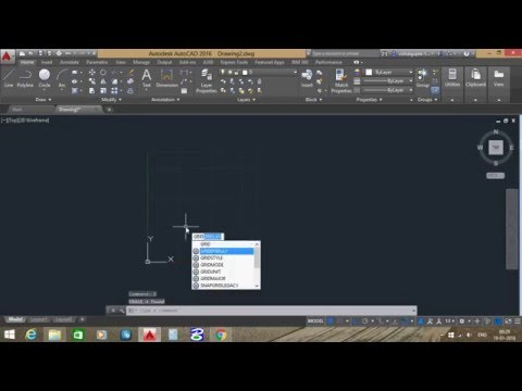 How to set limit in autocad